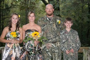 Camo Wedding
